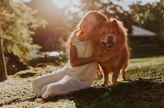Les enfants au contact des animaux